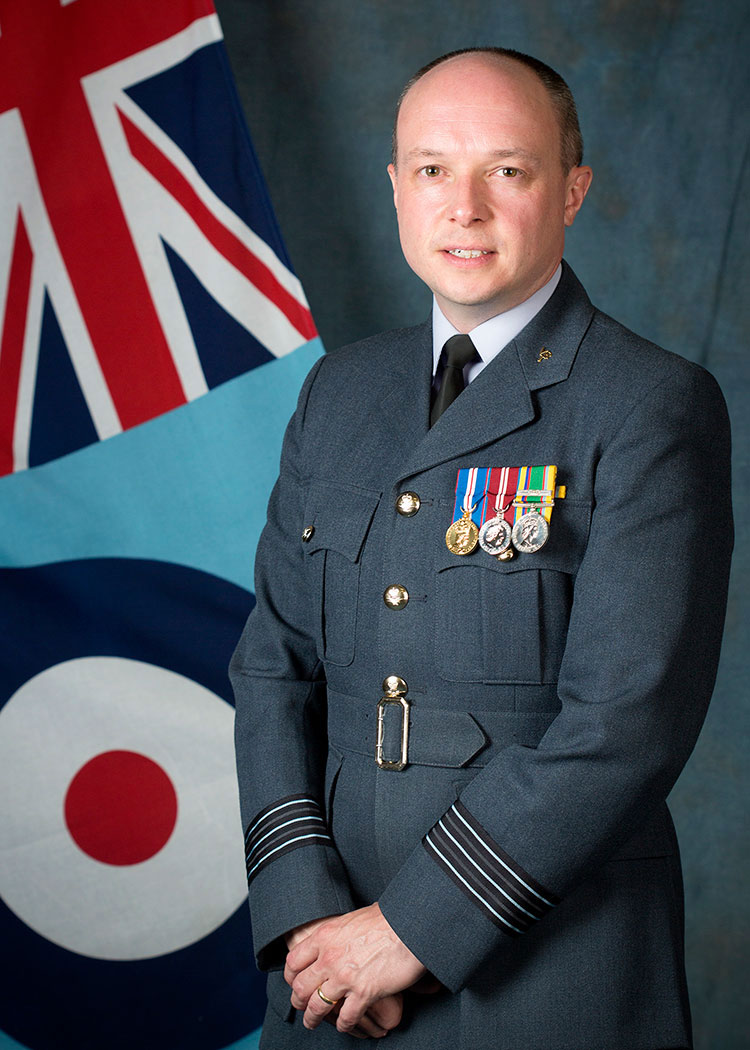 Wing Commander Andrew Pass